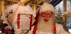 Virtual Visits With Santa Claus